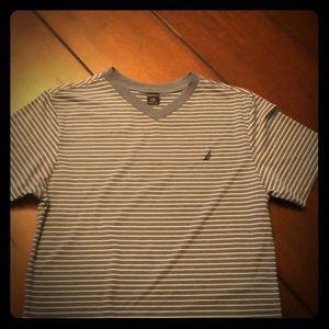Boys V- Neck Nautica Shirt